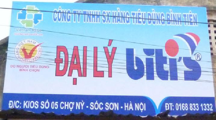 biển hiệu hiflex tại Hà Nội