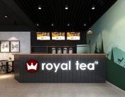 biển quảng cáo trà sữa
