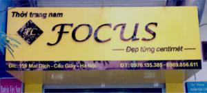 Biển quảng cáo cửa hàng